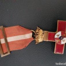 Militaria: MERITO MILITAR DISTINTIVO ROJO EPOCA DE FRANCO. Lote 128871471