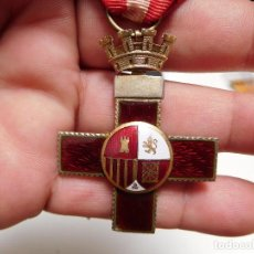 Militaria: CRUZ AL MÉRITO MILITAR DISTINTIVO ROJO II REPÚBLICA. Lote 129177171