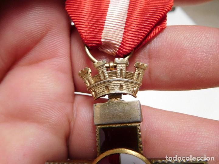 Militaria: Cruz al mérito militar distintivo rojo II República - Foto 7 - 129177171