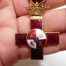 Militaria: CRUZ AL MÉRITO MILITAR DISTINTIVO ROJO ÉPOCA FRANCO. Lote 129177371
