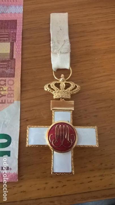 Militaria: Medalla al Mérito Militar. Distintivo rojo - Foto 2 - 129318927