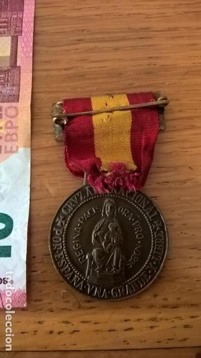 Militaria: Diputación de Vizcaya. Medalla conmemorativa de la Guerra Civil. Original - Foto 2 - 129342831