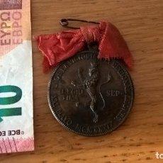 Militaria: MEDALLA DE LEÓN. CONMEMORATIVA DE LA GUERRA CIVIL. Lote 129345423