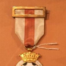 Militaria: MEDALLA DE BRONCE Y ESMALTES CRUZ ROJA IN HOC SIGNO SALUS. Lote 129587536