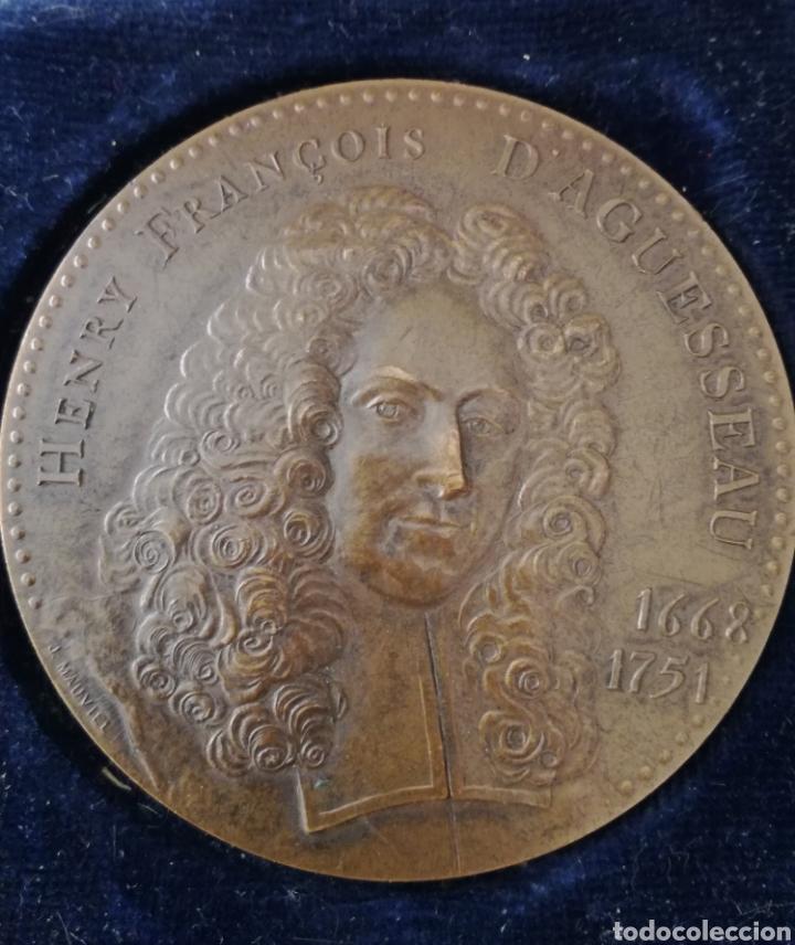ANTIGUA MEDALLA FRANCESA DE BRONCE. (Militar - Medallas Extranjeras Originales)