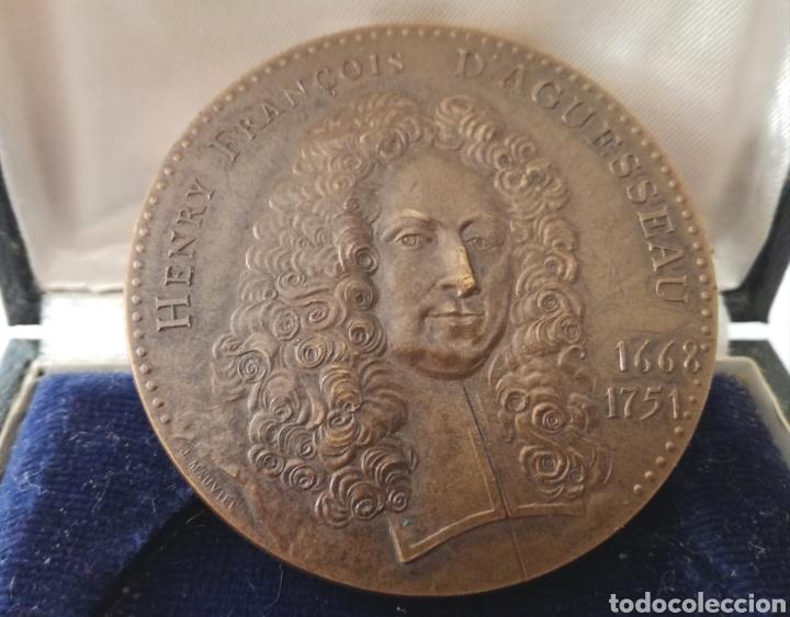 Militaria: Antigua Medalla Francesa de Bronce. - Foto 3 - 130106016