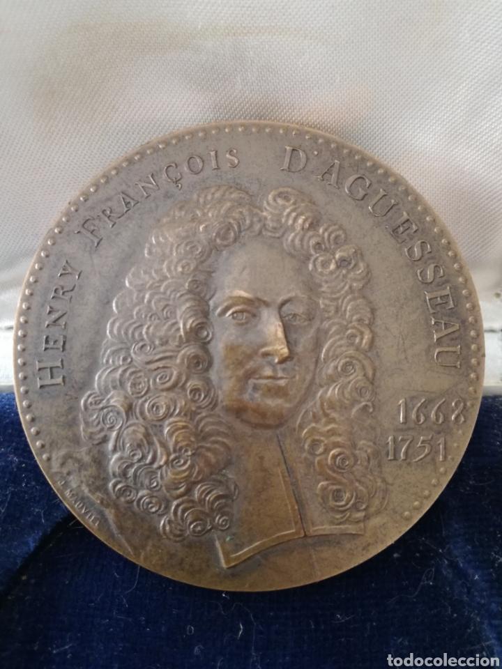 Militaria: Antigua Medalla Francesa de Bronce. - Foto 5 - 130106016