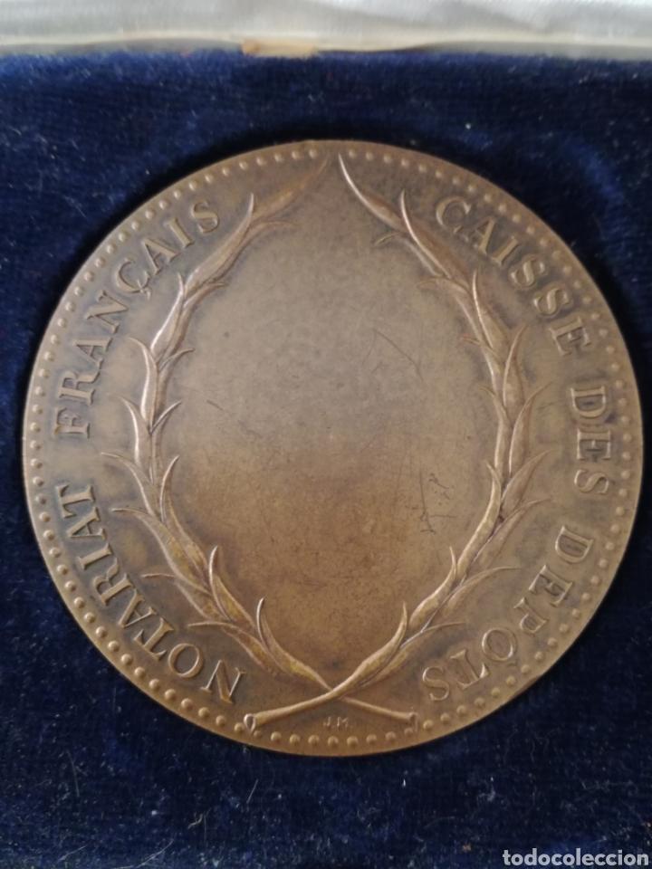 Militaria: Antigua Medalla Francesa de Bronce. - Foto 6 - 130106016