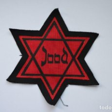 Militaria: WWII JEWISH STAR JOOD WITH GHETTO, CONCENTRATION CAMP. Lote 130860416