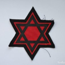 Militaria: WWII JEWISH STAR WITH GHETTO, CONCENTRATION CAMP. Lote 130860808
