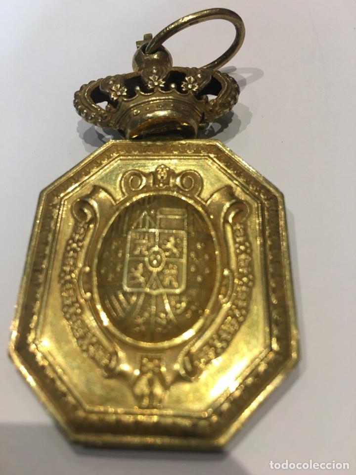 Militaria: Medalla Venera para cuello Justicia Militar Alfonso XIII - Foto 2 - 131176057