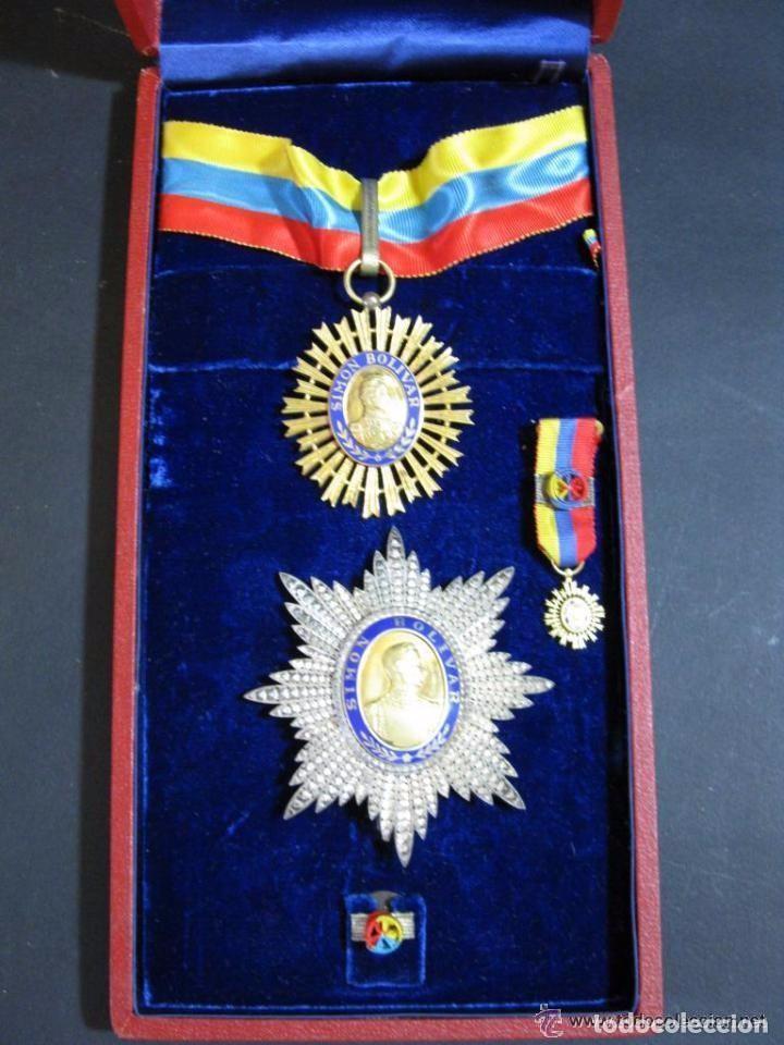 ORDEN DEL LIBERTADOR. SIMON BOLIVAR. GRAN OFICIAL. REPUBLICA DE VENEZUELA. (Militar - Medallas Extranjeras Originales)