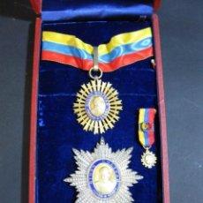 Militaria: ORDEN DEL LIBERTADOR. SIMON BOLIVAR. GRAN OFICIAL. REPUBLICA DE VENEZUELA.. Lote 131459878