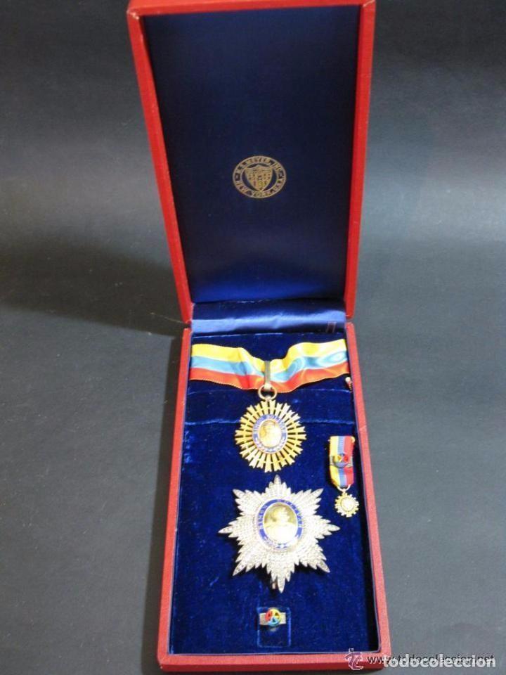 Militaria: ORDEN DEL LIBERTADOR. SIMON BOLIVAR. GRAN OFICIAL. REPUBLICA DE VENEZUELA. - Foto 2 - 131459878