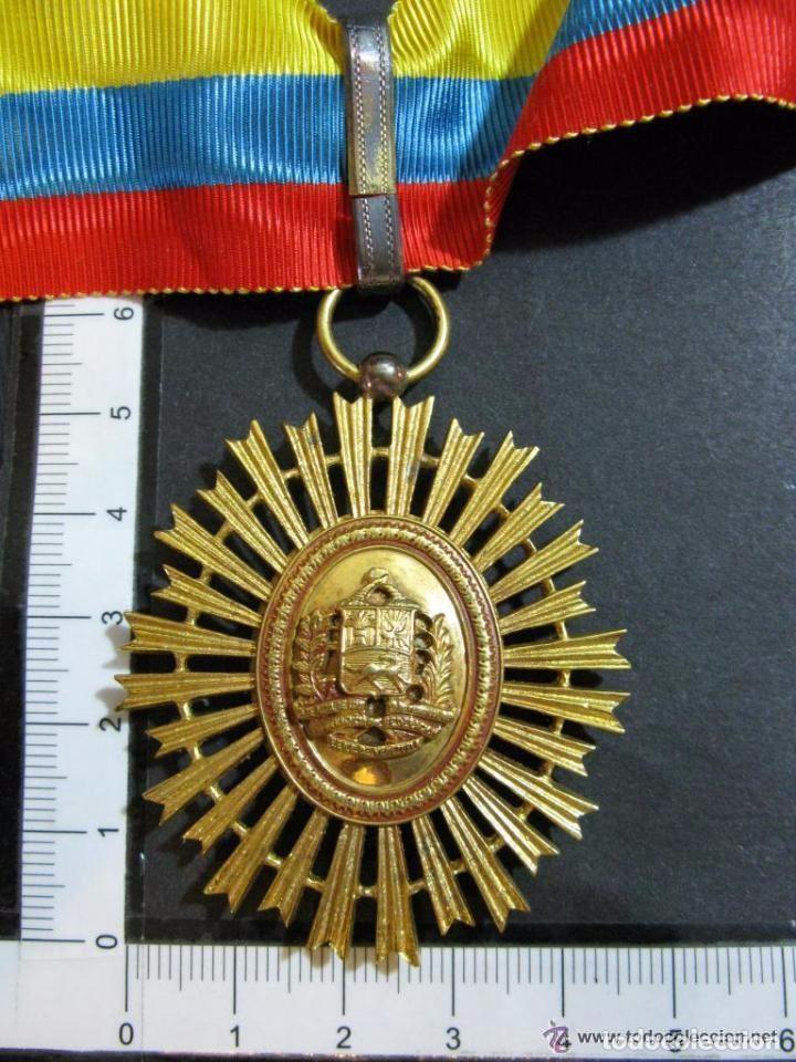 Militaria: ORDEN DEL LIBERTADOR. SIMON BOLIVAR. GRAN OFICIAL. REPUBLICA DE VENEZUELA. - Foto 7 - 131459878