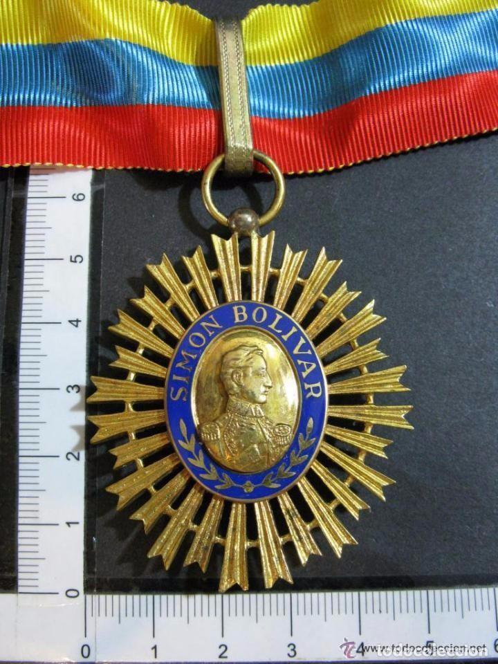 Militaria: ORDEN DEL LIBERTADOR. SIMON BOLIVAR. GRAN OFICIAL. REPUBLICA DE VENEZUELA. - Foto 8 - 131459878