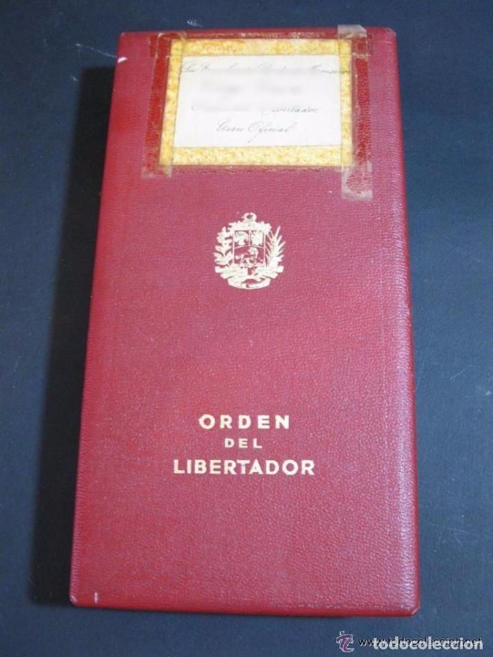 Militaria: ORDEN DEL LIBERTADOR. SIMON BOLIVAR. GRAN OFICIAL. REPUBLICA DE VENEZUELA. - Foto 10 - 131459878