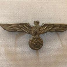 Militaria: INSIGNIA DE GORRA AGUILA WEHRMACHT, TERCER REICH, ADOLF HITLER, NAZI, NSDAP, SA,SS. Lote 131518254