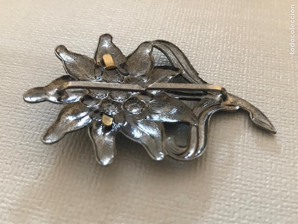 Militaria: Insignia de gorra de la Wehrmacht grupo de montaña, Tercer Reich,Hitler, Nazi, SS,SA edelweiss - Foto 4 - 131521702