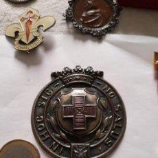 Militaria: MEDALLA BRONCE - CRUZ ROJA -IN HOC SIGNO SALUS. Lote 131718830