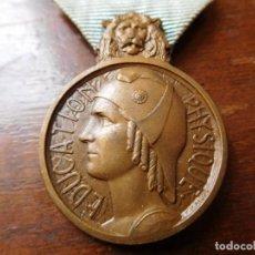 Militaria: FRANCIA MEDALLA DE EDUCACIÓN FISICA. Lote 131815606