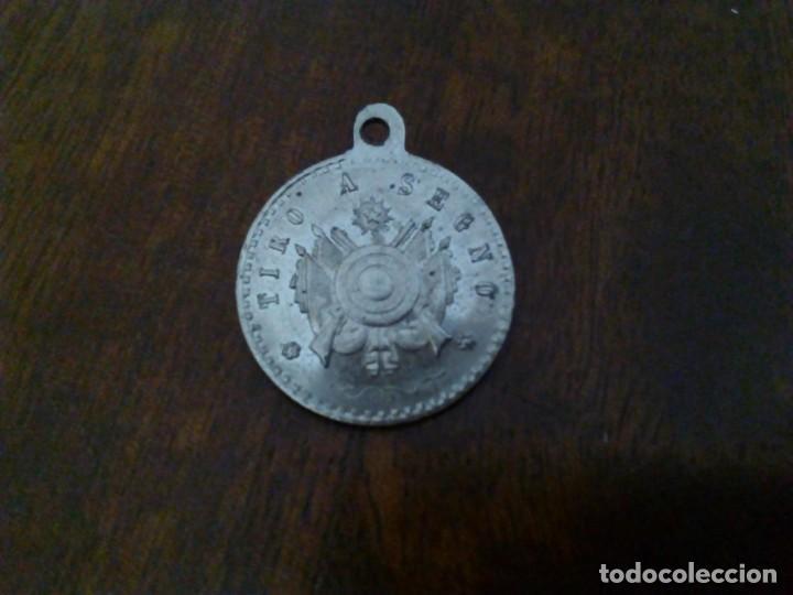 MEDALLA ITALIANA DE TIRO. 1º PREMIO. (Militar - Medallas Extranjeras Originales)