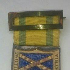 Militaria: GUERRA CIVIL, MEDALLA MUTILADOS,ORIGINAL, NO COPIA,LA QUE SE VE. Lote 132089083