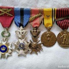 Militaria: PASADOR DE UN COMBATIENTE DE LA 2ª. GUERRA MUNDIAL. TODO ORIGINAL.. Lote 132095274