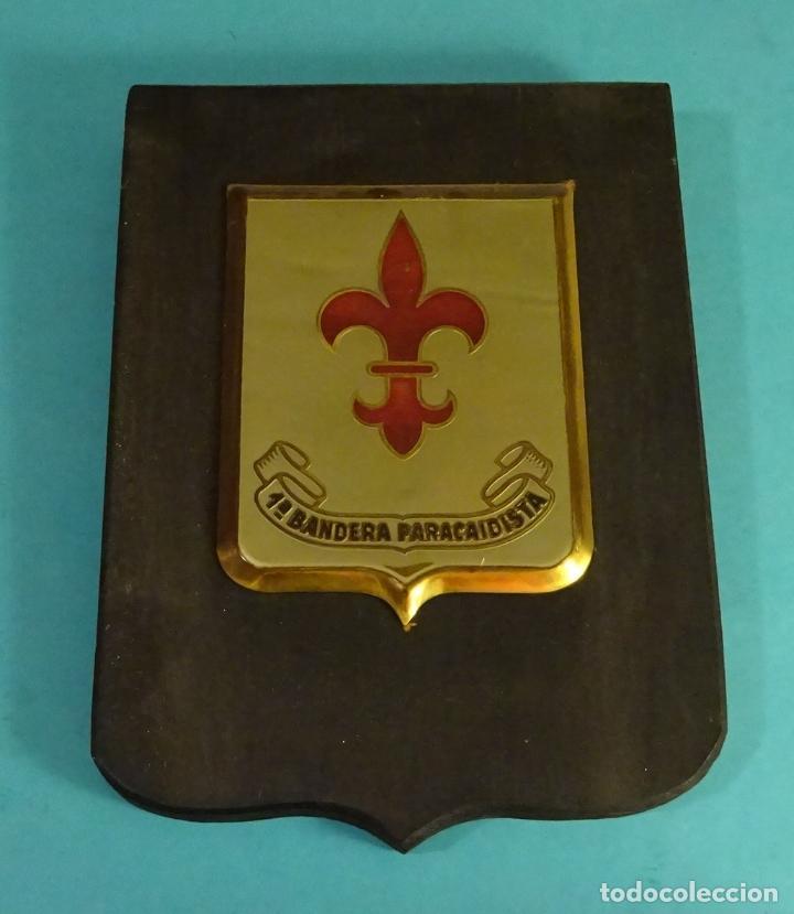 METOPA 1ª BANDERA PARACAIDISTA. FORMATO 14,5 X 20 CM (Militar - Reproducciones y Réplicas de Medallas )