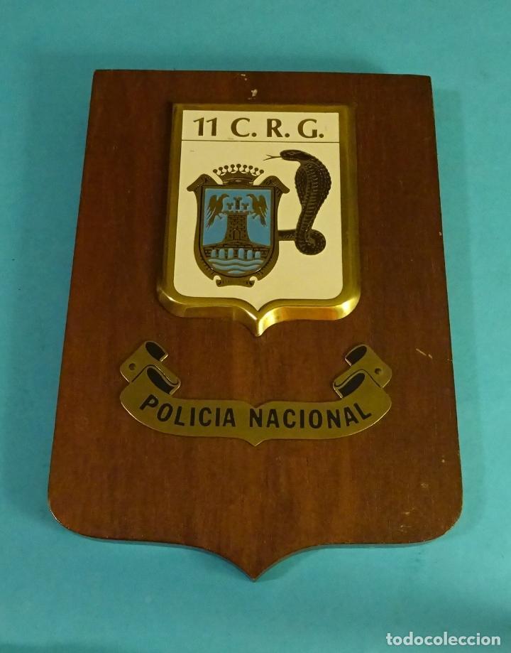 METOPA 11 C.R.G. POLICÍA NACIONAL. FORMATO 16 X 23 CM (Militar - Reproducciones y Réplicas de Medallas )