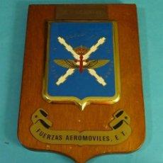 Militaria: METOPA HURACAN - 82. FUERZA AEROMÓVILES, E.T.. FORMATO 14 X 20 CM. Lote 132236398