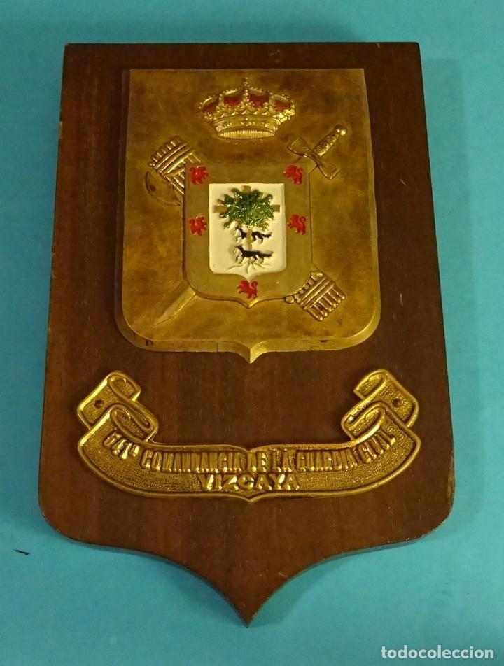 METOPA 541ª COMANDANCIA DE LA GUARDIA CIVIL. VIZCAYA. FORMATO 13,5 X 21 CM (Militar - Reproducciones y Réplicas de Medallas )