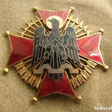 Militaria: EXCEPCIONAL GRAN CRUZ DE LA ORDEN DE CISNEROS. JERARCA FALANGISTA. FALANGE. MOVIMIENTO NACIONAL. Lote 132252350