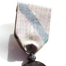 Militaria - MEDALLA DEL CENTENARIO DE LA DEFENSA DEL PUENTE SAMPAYO,CATEGORIA PLATA - 132455182