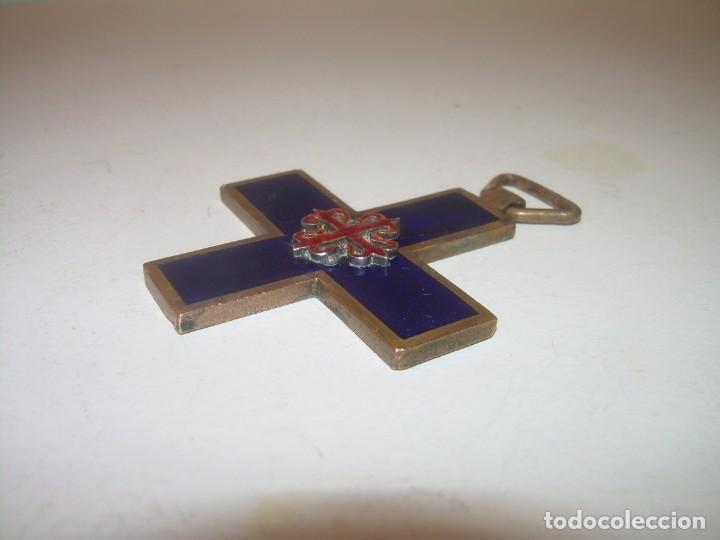 Militaria: ANTIGUA MEDALLA ESMALTADA. - Foto 7 - 132510058