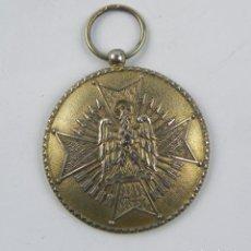Militaria: MEDALLA DE LA ORDEN DE CISNEROS, REALIZADA EN PLATA, DIVISION AZUL, OTORGADA PARA PREMIAR LOS DESTAC. Lote 132622998