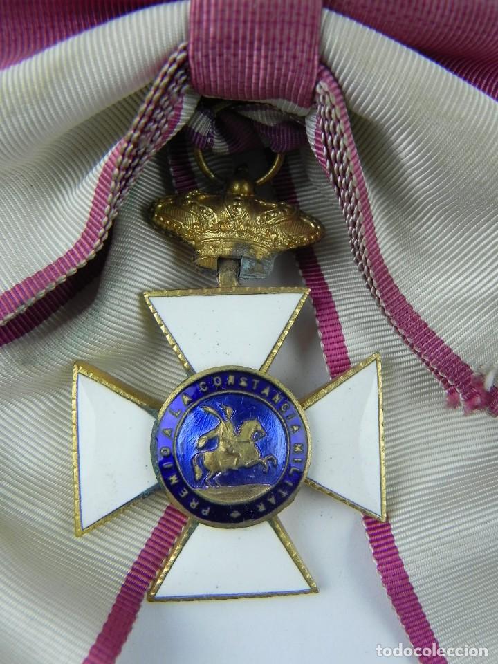 Militaria: Venera de la Gran Cruz de San Hermenegildo con Banda, constancia militar, le falta el circulo de la - Foto 3 - 132633982