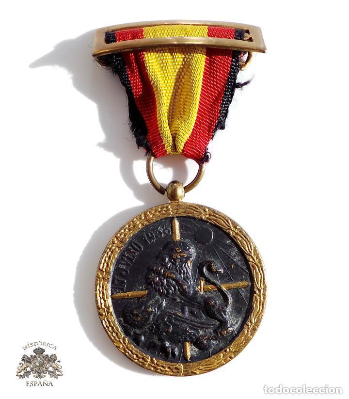 MEDALLA DE LA CAMPAÑA GUERRA CIVIL - 17 JULIO 1936 - INDUSTRIAS EGAÑA (Militar - Medallas Españolas Originales )