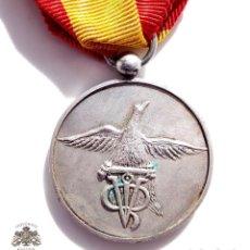 Militaria: MEDALLA CATEGORIA PLATA DIPUTACIÓN DE TARRAGONA A LA PROMOCIÓN EBRO DE LA GUARDIA CIVIL , 1968. Lote 132687762