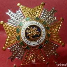 Militaria: PLACA DE LA REAL Y MILITAR ORDEN DE SAN HERMENEGILDO. ÉPOCA DE JUAN CARLOS I.. Lote 132775738