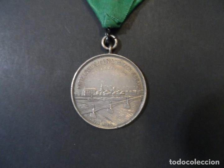 MEDALLA 25 ANIVERSARIO DE OFFENBACH. FEDERACION DE TIRO. DEUTSCHLAND. AÑO 1920 (Militar - Medallas Extranjeras Originales)