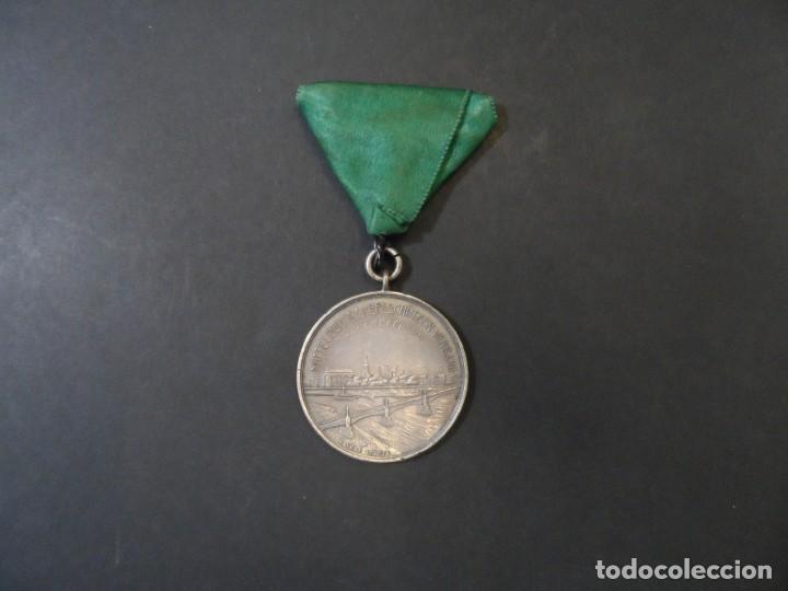 Militaria: MEDALLA 25 ANIVERSARIO DE OFFENBACH. FEDERACION DE TIRO. DEUTSCHLAND. AÑO 1920 - Foto 2 - 132834126
