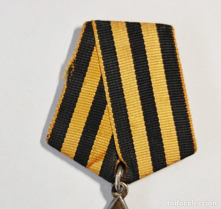 Militaria: MEDALLA DE PLATA MACIZA RUSA ORDEN DE LA GLORIA DE 3ª CLASE.SEGUNDA GUERRA MUNDIAL. - Foto 3 - 133442166