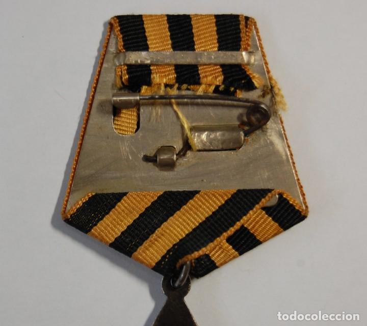 Militaria: MEDALLA DE PLATA MACIZA RUSA ORDEN DE LA GLORIA DE 3ª CLASE.SEGUNDA GUERRA MUNDIAL. - Foto 6 - 133442166