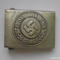 Militaria: WWII THE GERMAN BUCKLE POLICE POLIZEI GOTT MIT UNS. Lote 176212134