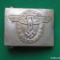Militaria: WWII THE GERMAN BUCKLE POLICE POLIZEI. Lote 262073405