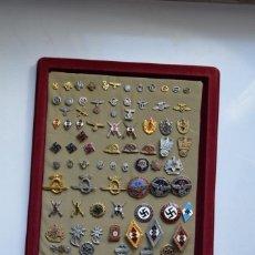 Militaria: WWII THE GERMAN SET 92 BADGES. Lote 133613158