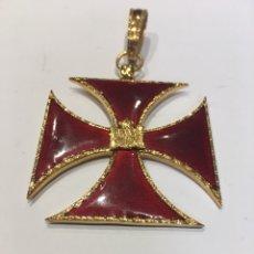 Militaria: MEDALLA ORDEN DE LOS TEMPLARIOS. Lote 133634349
