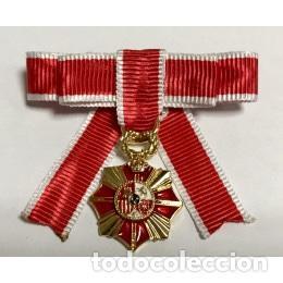 MEDALLA MINIATURA LAZO SRA. DE LA VICTIMAS DEL TERRORISMO (Militar - Medallas Españolas Originales )