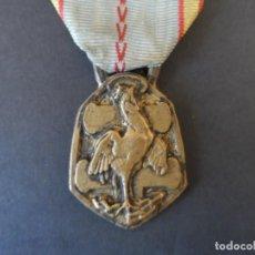 Militaria: MEDALLA CONMEMORATIVA DE LA GRAN GUERRA 1939-1945. PASADOR FRANCIA. RARA. Lote 134292742